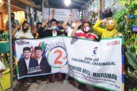 Perindo Surabaya kampanyekan program kerakyatan paslon Machfud-Mujiaman