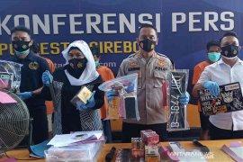 Polresta Cirebon tangkap empat pelaku pencurian dengan kekerasan
