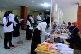 Sebanyak  16 orang peserta SKB CPNS Kota Tangerang positif COVID-19