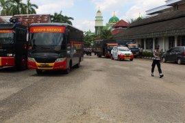Pascapelemparan, Brimob jaga Gedung DPRD Kota Jambi