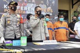 Polisi ringkus penadah dan residivis curanmor di Kota Malang