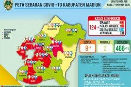 Pasien COVID-19 di Madiun bertambah empat menjadi 124 orang