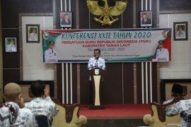 Bupati : Konferensi PGRI XXII memotivasi peningkatan mutu pendidikan