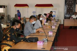 DPRD HSS terima kunjungan kerja DPRD Kutai Kartanegara