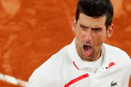 Awali permainan secara buruk, Djokovic lolos ke semi final French Open