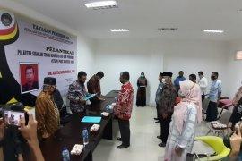 Yayasan Pendidikan PGRI Sumbar lantik Ristapawa Indra sebagai Plt Ketua STKIP Padang