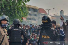Polda Metro Jaya siapkan 12.000 personel untuk amankan aksi di Istana Merdeka