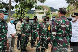 Ketua Pengawas TMMD Brigjen TNI Legowo tinjau kegiatan di Aceh Tengah