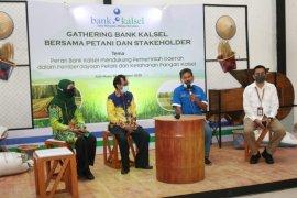Bank Kalsel kembali laksanakan gathering dengan petani