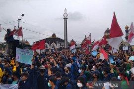 DPRD Bengkulu dukung mahasiswa tolak UU Cipta Kerja