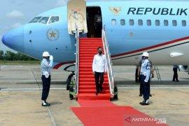 Presiden Jokowi  sebut kehidupan pekerja akan membaik dengan UU Cipta Kerja