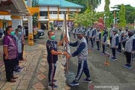 Syarifuddin lepas kontingen Popda Kotabaru