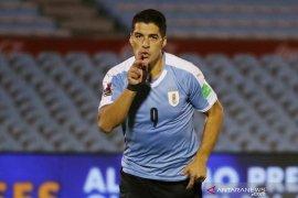 Uruguay awali penampilan di kualifikasi Piala Dunia dengan kemenangan