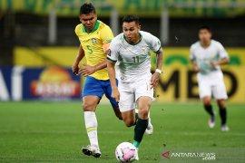 Casemiro minta  diselamati setelah cukur Bolivia 5-0