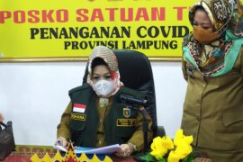 Kasus  positif COVID Lampung bertambah 15 kasus, dua di antaranya anak
