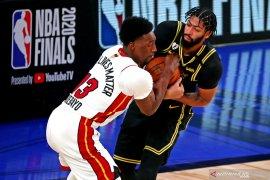 Cetak 28 poin pada Gim 5, pemain Lakers Anthony Davis siap untuk Gim 6 Final NBA