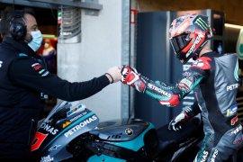 Quartararo tercepat  di FP3 jelang kualifikasi GP Prancis