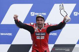 MotoGP: Mimpi Petrucci terjawab di Le Mans