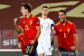 UEFA Nations League - Oyarzabal jadi penentu kemenangan Spanyol atas Swiss