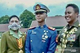 Kasad Andika Perkasa apresiasi perwira remaja TNI putra mantan petinggi Kopassus