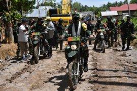 Aster Kasad kunjungi lokasi TMMD di Gorontalo Utara