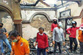 Polisi Bangka Barat selidiki penyebab kebakaran ruko di Pasar Mentok