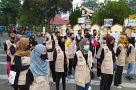 KPU Binjai sosialisasi pilkada di Lapangan Merdeka