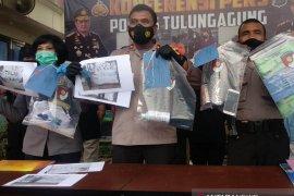 """Polres Tulungagung tangkap enam remaja pelaku vandalisme """"omnibus law"""""""