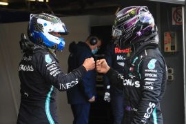Valtteri  Bottas butuh keajaiban dalam perebutan gelar melawan Hamilton