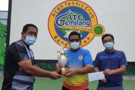 Aminullah/Tio Lana juara tenis antar Top Player 2020
