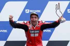 Mimpi Danilo Petrucci terwujud di MotoGP Le Mans