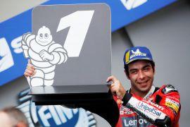 Danilo Petrucci bawa Ducati juarai GP Prancis