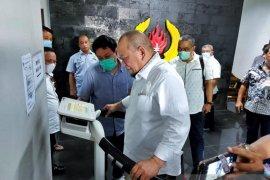 Ketua DPD La Nyalla tinjau Puslatda normal baru KONI Jatim