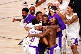 LA Lakers persembahkan gelar juara NBA untuk  Bryant