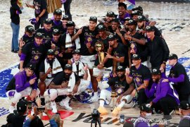 Simak perjalanan Lakers menuju gelar juara NBA 2020