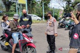 Polres Subang libatkan komunitas motor kampanyekan protokol kesehatan
