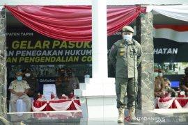 Direktur Pol PP Kemendagri pimpin apel pasukan di Tapin