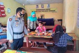 Polsek Padang Tualang Langkat berikan fasilitas belajar gratis
