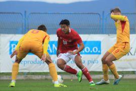 Penyerang timnas U-19 Indonesia  Jack Brown belum puas meski cetak dua gol