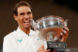 Nadal jurai French Open yang ke-13 kali, Djokovic: Dia memang  fenomenal