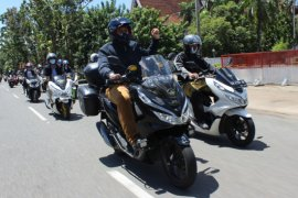PCX LUXURIOUS RIDE 2020 digelar dengan nuansa adat Kalimantan Barat