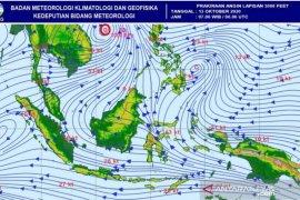 BMKG: waspadai dampak sirkulasi Eddy terjadi di wilayah Aceh