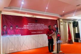 Ketua PDIP Kalbar tegaskan totalitas menangkan SIS - Wahyu di Kapuas Hulu