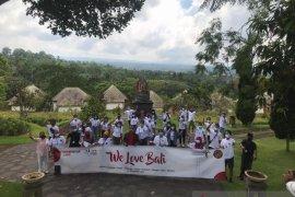 """Kunjungi destinasi favorit, """"We Love Bali"""" banyak peminat"""