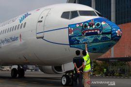 Maskapai Garuda dinobatkan maskapai penerbangan dengan prokes terbaik dunia