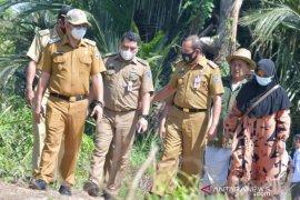 Wabup HSS monitoring sembilan titik pembangunan di Kalumpang dan Simpur