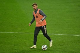 UEFA Nations League: Werner siap turun lawan Swiss, tapi tiga pemain Jerman mungkin absen