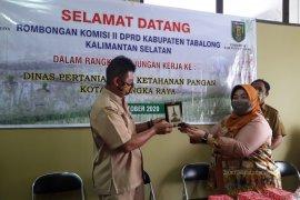 Komisi II Tabalong kaji ketersediaan pangan Kota Palangkaraya