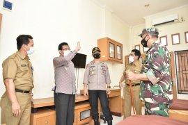 PJs gubernur tinjau ruang baru isolasi pasien COVID-19 berkapasitas 70 orang