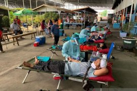 Warga Banjarmasin donorkan 103 kantong darah bagi PMI